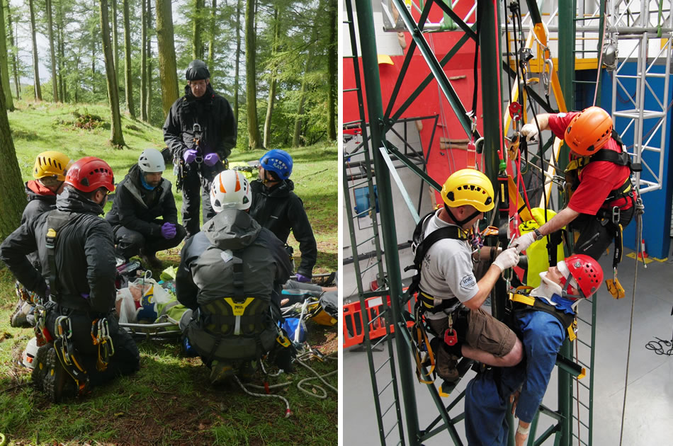 Emergency Casualty Care For Work At Height And Rescue Training Course