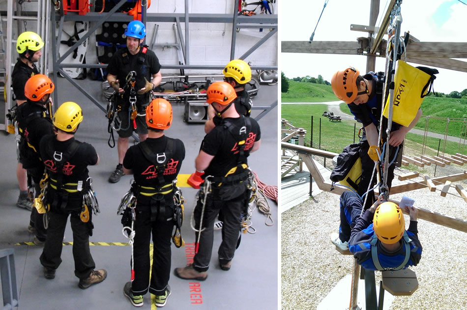 Adventure Activities Height Access Training Course