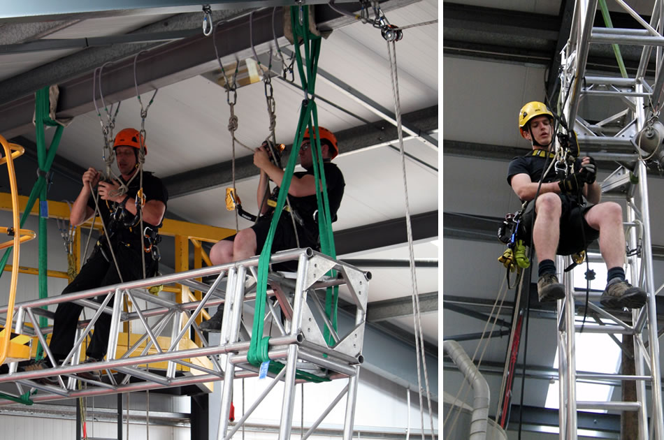 Stage Riggers Work At Height Training Courses