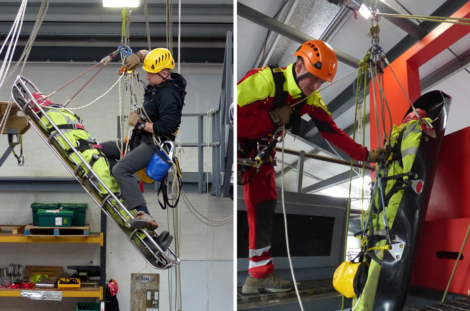 Use Of Rescue Stretchers At Height Training Course