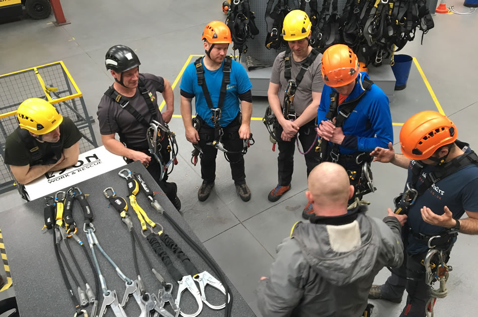 Working At Height With Personal Fall Protection Equipment Training Course